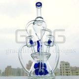 Труба водопровода Handblown боросиликата изготовления стеклянная куря
