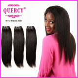 Fashion Style 100% Indian Straight Virgin Hair Machine Made Weft