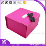 Colorful Paper Carrier Ribbon Packaging Clothing Gift Box