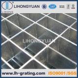 Cubierta de acero galvanizada del dren de la reja para el suelo del foso