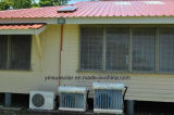方法および優雅なデザインの高性能の壁に取り付けられたハイブリッド太陽コンディショナー