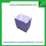 Kundenspezifische überzogenes Papier-Geschenk-Kasten-elektronische Produkt-Digitaluhr-Taschenlampen-verpackenkasten