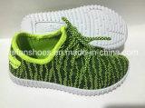 La vente en gros badine les chaussures d'injection de toile, chaussures occasionnelles d'enfants avec personnalisé (FFDL112101)
