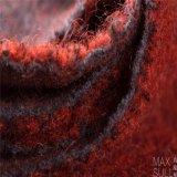 Mohair /Cotton/tessuti Mixed di nylon lane del poliestere/delle lane nel colore rosso