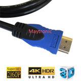 2017 le câble supplémentaire de V1.4 le meilleur marché V2.0 HD HDMI