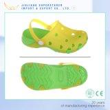 La jalea linda del nuevo diseño calza las sandalias superiores de los cabritos del PVC EVA Outsole