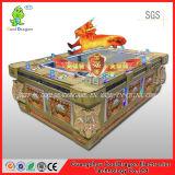Machine rouge de jeu électronique de tir de jeu de dragon de jeu de poissons de grève de tigre