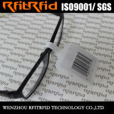 Hfの盗難防止のサングラスの確認のための使い捨て可能な機密保護RFIDの宝石類の札