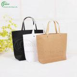 Изготовленный на заказ хозяйственная сумка бумаги Brown Kraft с мешком подарка печати логоса (KG-PB016)