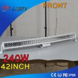 Alta qualità 240W LED Lightbar dell'indicatore luminoso del lavoro del CREE 24V LED