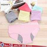 Cuecas confortável da menstruação do uso da noite do Anti-Escapamento do roupa interior Physiological quente das senhoras do estilo