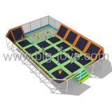 Trmpoline大きい屋内公園、ジャンプのトランポリンのベッド(BJ-TR50)