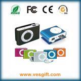 Promoción regalo deporte MP3 con mini clip