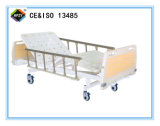 (A-79) Cama de hospital manual Double-Function movible con la pista de la base del ABS