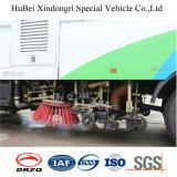 caminhão Euro4 da lavagem da vassoura de estrada de 7cbm Dongfeng 16t
