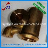 CNCの機械化プロセスの真鍮の管付属品