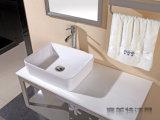 Acier inoxydable 304 arrêtant le modèle de porte de salle de bains de PVC