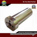 Peças mecânicas de bronze da máquina de giro do torno do CNC do costume profissional