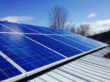 Sistema di alluminio del montaggio di comitato solare di PV del tetto
