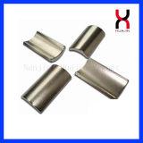 Spezielle starke permanente NdFeB Lichtbogen-Magneten (R22mm*R16mm*L33mm)