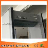 Высокочувствительный детектор безопасности 33 зон Прогулка через ворота металлодетектора