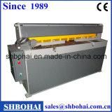 Le manuel de marque de Shangai Bohai a actionné le cisaillement, massicot motorisé de manuel de Backaguge