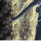 100%Polyester 달빛 표범 Pigment&Disperse는 침구 세트를 위한 직물을 인쇄했다