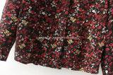 Chemise de coton estampée de femmes