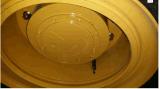 Cargador de la rueda del equipo de construcción pesado con el compartimiento de la roca (6ton zl60)
