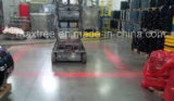 carretilla elevadora peatonal del piloto de la Rojo-Zona LED de 10V 12V 24V 80V y equipo móvil