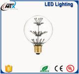 Heiße verkaufenG125 geformte LED sternenklare Birne