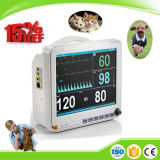 Clínica Ce ISO Medical Portable ECG Temp Etco2 Veterinary Patient Monitor Price