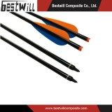 Fibra del carbonio per l'asta cilindrica della freccia di tiro all'arco e di caccia