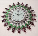Orologio di parete rotondo modellato di Digitahi del metallo variopinto caldo di vendita