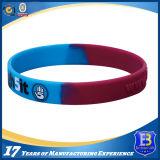 Bracelet de silicones de couleur de camouflage pour la promotion ou l'exposition (Ele-SW001)