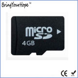 Real de memoria completa de 4 GB de capacidad de la tarjeta Micro SD (TF 4GB)