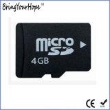 Tarjeta micro llena verdadera de la capacidad de memoria 4GB SD (TF 4GB)