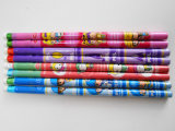Lápiz del encogimiento con el lápiz barato del estudiante del lápiz de la Hb del lápiz del borrador