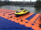 耐久のプラスチック浮遊ポンツーンのドックはジェット機のスキー浮遊物を使用した