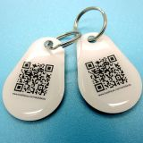 Vereingymnastik Epoxy-Kleber Ntag213 RFID NFC keyfob Marke mit QR Code