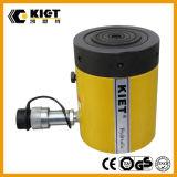 Cilindro a semplice effetto di Hydrulic del controdado di marca di Kiet