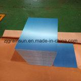 Plaque en aluminium avec le film ou le papier