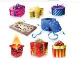 Cadre de empaquetage des prix de bonne qualité de cadeau bon marché de Noël