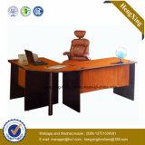 Угловойой стол компьютера офиса с книжными полками (HX-FCD112)