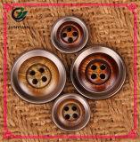 Круглая кнопка 4holes одежды кнопки шинели