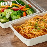 Recipiente 100% Sugarcan Pulp Take Away Food