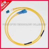 cavo ottico della fibra monomodale duplex dello Sc LC di 3.0mm