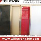 광택 있는 빨간 Shopfront 표시 훈장 알루미늄 합성 위원회