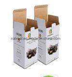Rectángulo de papel de empaquetado modificado para requisitos particulares alta calidad al por mayor del plegamiento