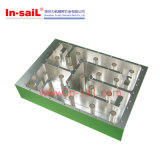 Kundenspezifischer CNC, der 5052 Aluminiumteile CNC-Prägeplatten maschinell bearbeitet